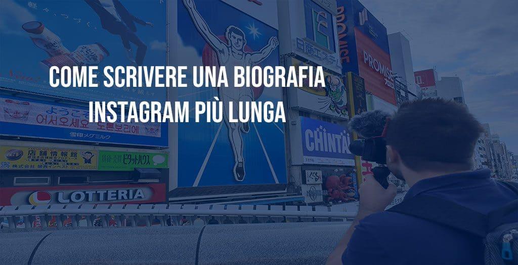 come scrivere una biografia instagram