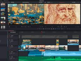 Davinci Resolve software