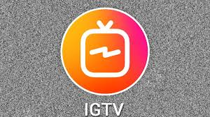 video con titoli e bande bianche video IGTV