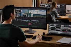 video con titoli e bande bianche con Davinci Resolve
