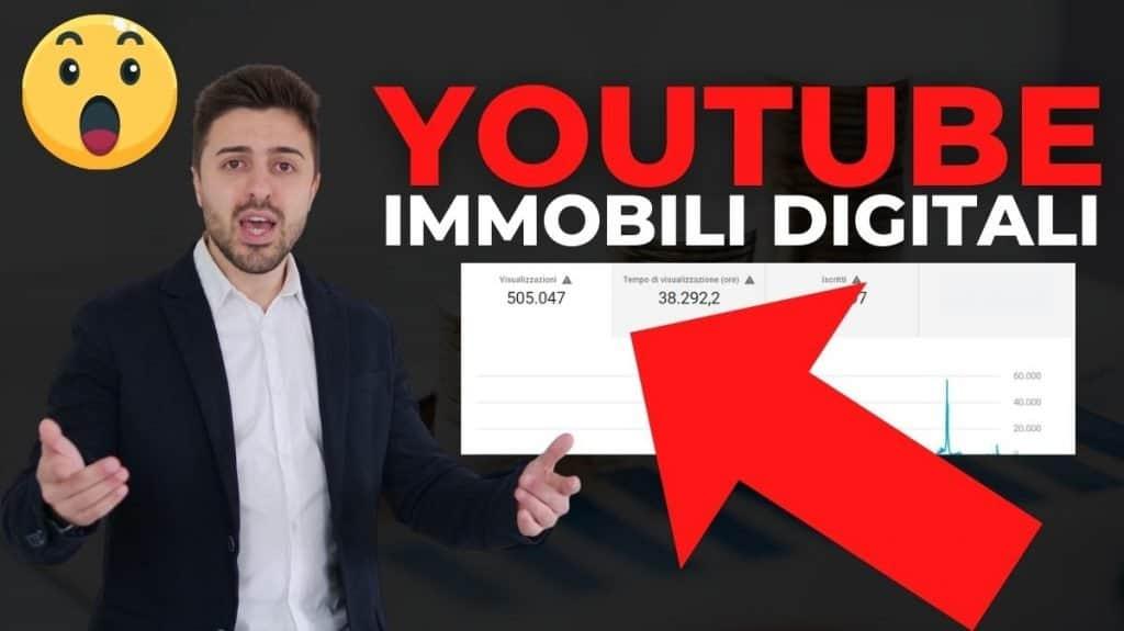 immobili digitali come guadagnare su youtube