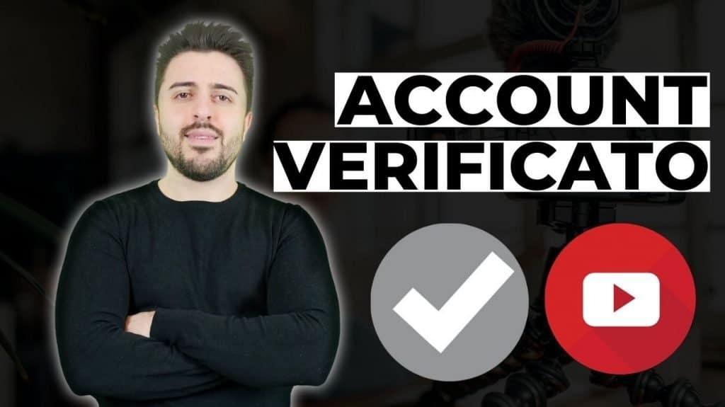 canale verificato youtube