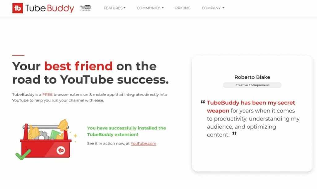 tag youtube tubebuddy