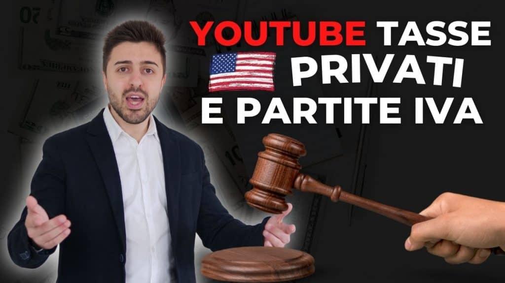 dati fiscali youtube e adsense