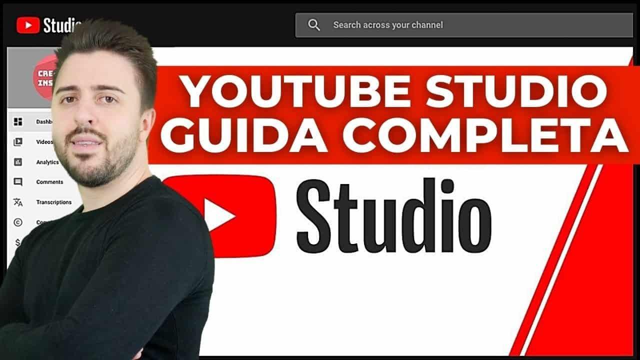 Youtube Studio Tutorial Italiano