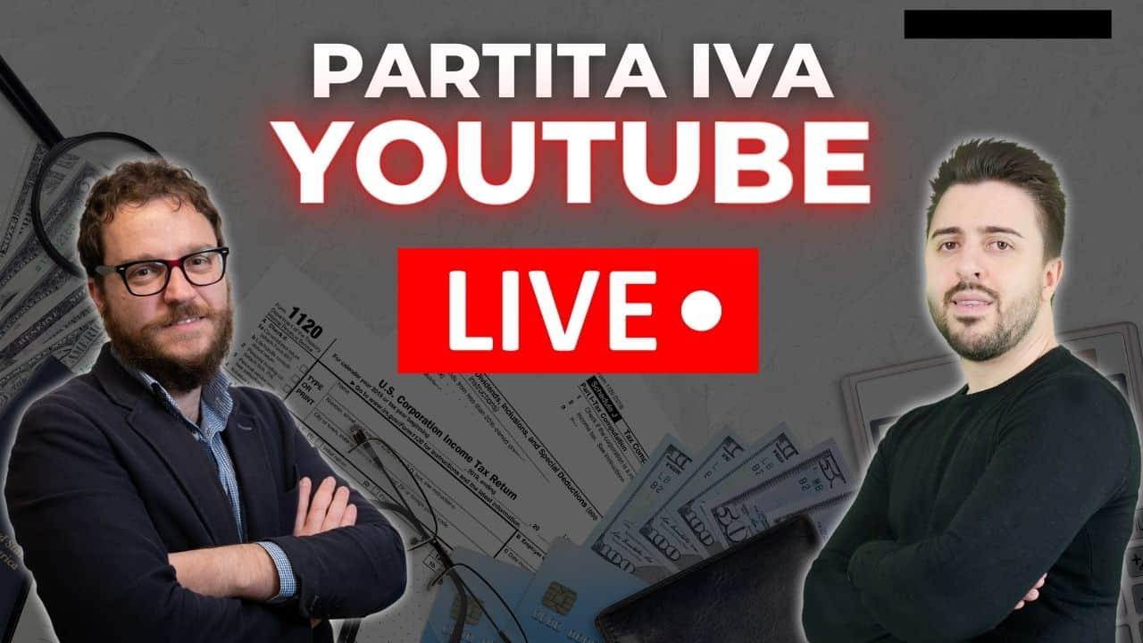 partita iva youtube